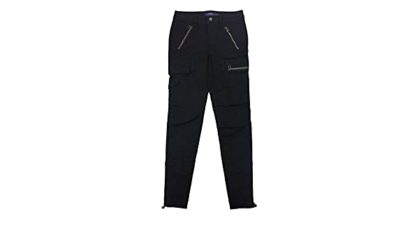 RALPH LAUREN Lauren Womens  Utility Cargo Stretch Twill Skinny Pants at  Amazon Women s Clothing store  361ff8d4d5