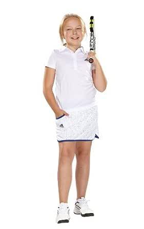 adidas - Camiseta de pádel para niña, tamaño 116 UK, Color Blanco ...