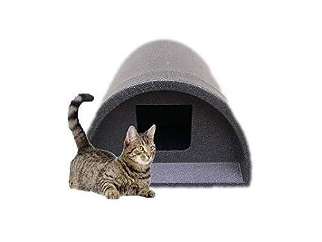 Cosy Jaulas Ltd - Plástico Exterior Cat Refugio/Caseta Gris Cuadrado sólo £ 38.99: Amazon.es: Productos para mascotas