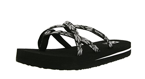 Teva Olowahu - Sandalias - gris/negro 2016 Hazel Black/Silver