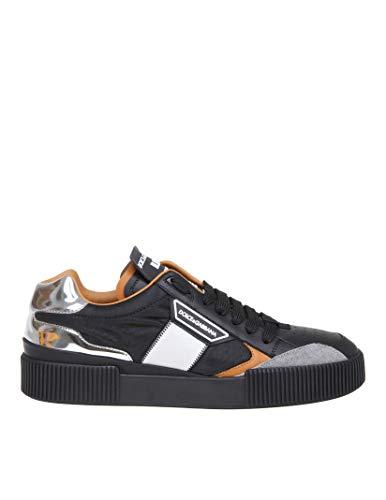 Dolce e Gabbana Luxury Fashion Mens CS1694AA33280995 Black Sneakers | Fall Winter 19 (Sneaker Men Dolce)