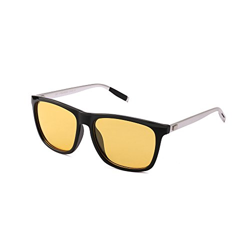 HD Night vision Sunglasses Driving - Glasses for Headlight Polarized Anti-Glare Safety Glasses Yellow lens for Men and - Of Benefit Sunglasses Polarized