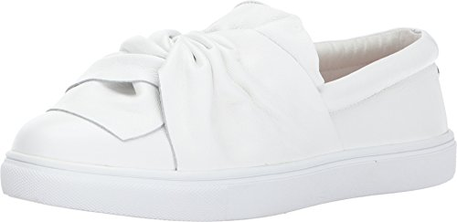 Steve Madden Women's Knotty White Leather Shoe