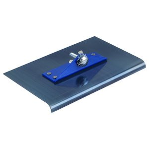 9''x4'' 1/4''R Blue Steel Walking Edger w/2-Way Bracket