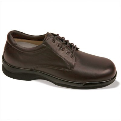 Apex Men's Lace Conform Oxford Black Full Grain 13 XW