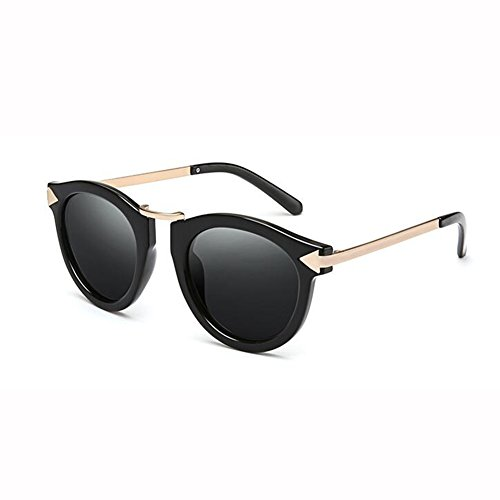 De Retro 1 Viaje Gafas WX De UV Redonda 2 Cara Gafas Color Elegante Moda Sol 400 Hembra xin Polarizado vqxxwCtfU