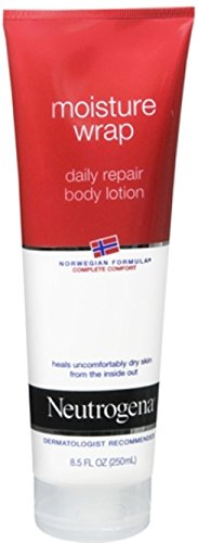 Neutrogena Moisture Wrap Daily Repair Body Lotion, Fragrance Free, 8.5 Ounce (Pack of (Moisture Wrap)