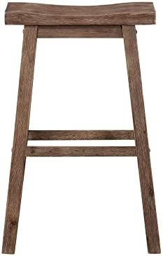 Boraam 75029 Sonoma Bar Height Saddle Stool 29-Inch Wire-Brush  sc 1 st  Amazon.com : bar stools 36 inch seat height - islam-shia.org
