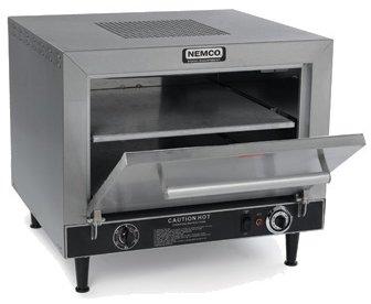 Nemco (6205-240) 25'' Countertop Pizza Oven w/ Square Stone Decks