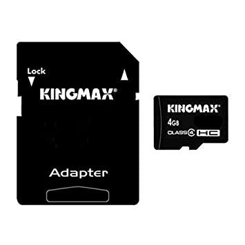 K8U150 @FATO Tarjeta SD TF 4 GB Micro SD Kingmax para ...