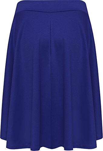 Femmes 42 WearAll jupe Grande taille uni 56 Tailles Bleu Jupes mini vas royal wzx1z0Rqr