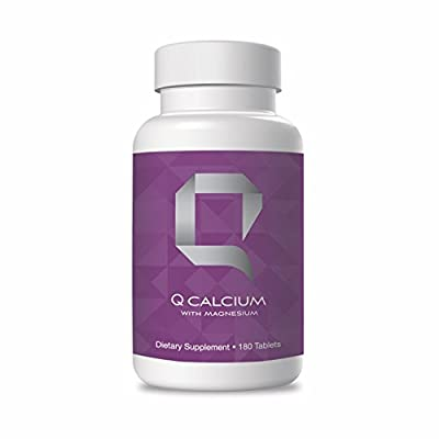 Q Calcium Magnesium with Zinc Vitamin D - Bone Supplement for Arthritis, Natural Calcium with Magnesium for Muscle Cramps, Calcium Vitamin Mineral Supplements for Bone Health, Phosphorus Supplement
