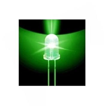 500 pcs F5 5mm Green Round Superbright LED Light LED lamp NEW