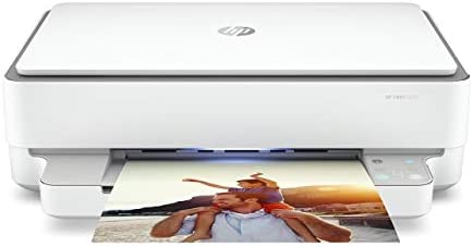 HP ENVY 6055 Wireless All-in-One Printer | Mobile Print, Scan & Copy (5SE16A) (Renewed)