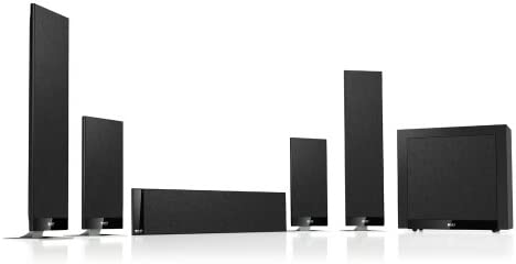 KEF T205 5.1 Home Theater System – Black