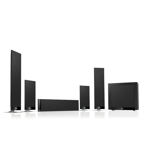 KEF 5.1-Channel Home Theater Speaker System with Powered Subwoofer T205