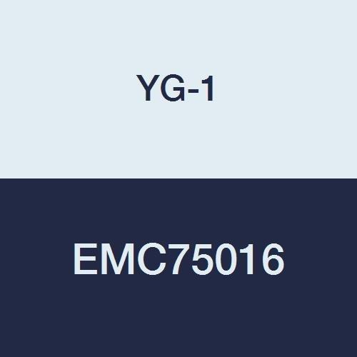 YG-1 EMC75016 Carbide V7 Mill Inox End Mill 1//4 2 Length Stub Length 4 Flute