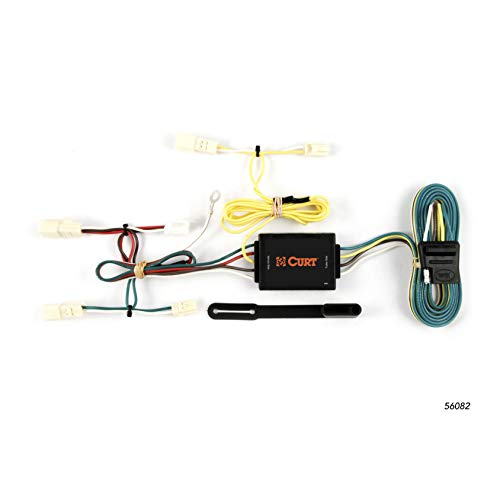 (CURT 56082 Vehicle-Side Custom 4-Pin Trailer Wiring Harness for Select Mazda MX-5)