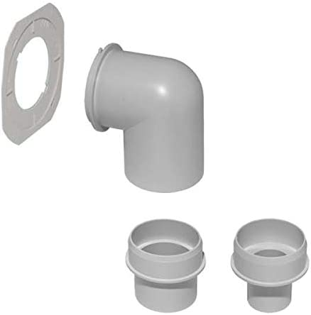 HeliosUltraSilence WC-Anbindungsset ELS-WCS 8191 zur Geruchsabsaugung an WCs