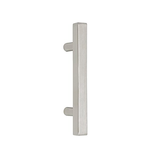 - Probrico Cabinet Handles-Pack of 100 Satin Nickel 3inch (76mm) Hole Centers Square T Bar Kitchen Cabinet Handles Drawer Pulls for Kitchen Furniture Hardware