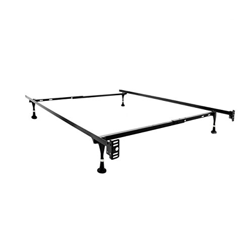 Furniture World Adjustable Metal Bed Frame, Twin/Full/Queen