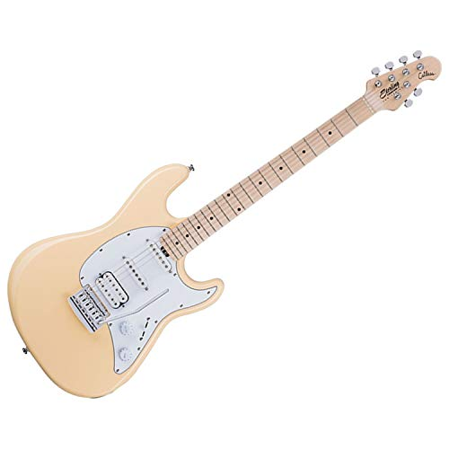 Sterling By MusicMan 6 String Solid-Body Electric Guitar, Right, Vintage Cream (CT30HSS-VC-M1)