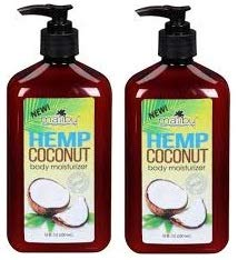 NEW Malibu Tan Hemp Coconut Body Moisturizer 18 FL OZ (530 ml) - 2-PACK