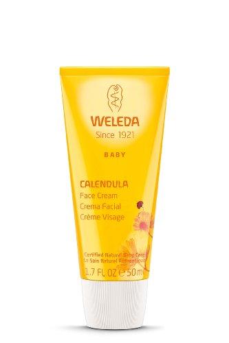 Weleda Baby Calendula Face Cream, 1.7 Fl Oz (Pack of 2)