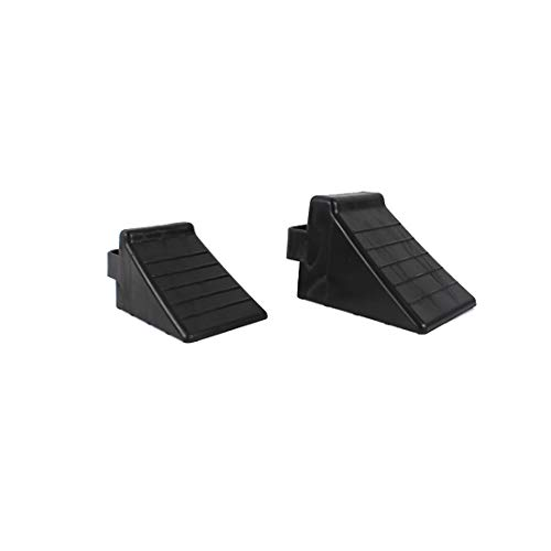 GB 2PCS of Tire Crutch Wheel Chocks for Car Truck Stopper Block Set (Large) by [GBOEM] (Image #9)