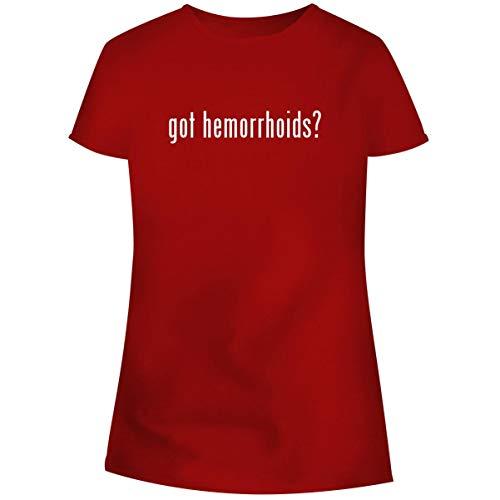 One Legging it Around got Hemorrhoids? - Women's Soft Junior Cut Adult Tee T-Shirt, Red, XXX-Large