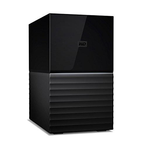 WD 16TB My Book Duo Desktop RAID External Hard Drive - USB 3.1 - WDBFBE0160JBK-NESN
