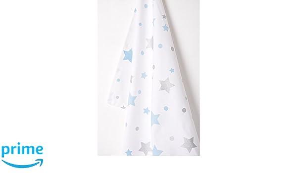 Lushness/_Linen Glittering Stars 100/% Cotton Set of Oven Mitt /& Pot Holder