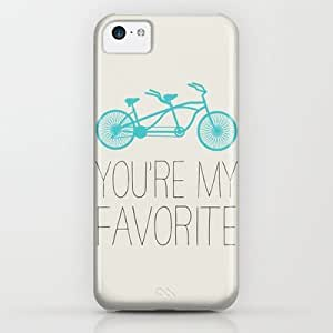 Society6 - Bike - You're My Favorite iPhone & iPod Case by Allyson Johnson