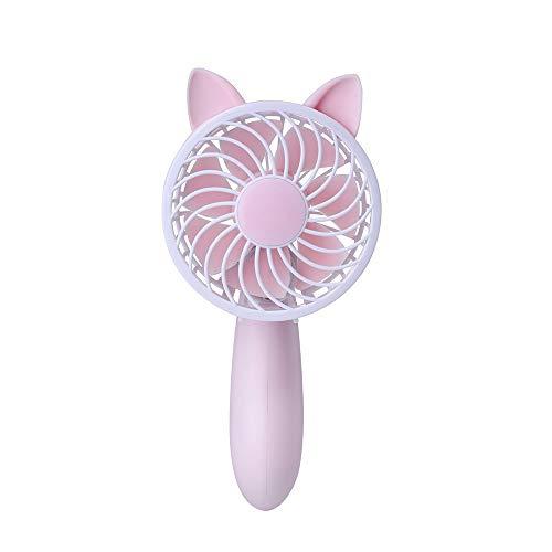 Protable Cute Fan USB Mini Electric Fan Table Fan 3-Speed Wind Adjustable