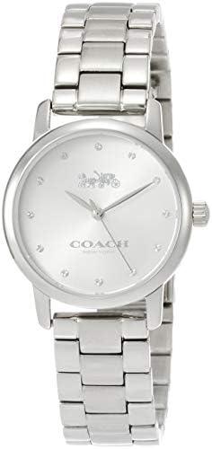 [Coach] Wristwatch Grand Silver Dial Quartz 14503001 Ladies Parallel Import Silver