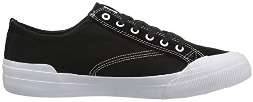 Huf Heren Klassieke Lo Ess Skateboarden Schoen Zwart / Wit