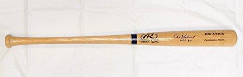 Al Kaline HOF Autographed Blonde Rawlings Big Stick Baseball Bat- JSA ()