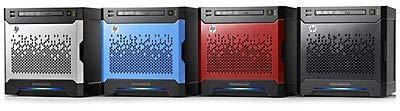 Hewlett Packard Enterprise MicroServer Gen8 front bezel **New Retail**, 2845309 (**New Retail** kit)