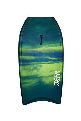 ZEFR Slab 42″ Bodyboard/Coil Leash Included/Will Never Peel Apart or waterlog,