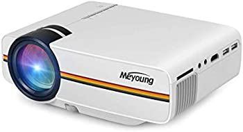 Meyoung TC80 1200-Lumens LED Home Theater Projector