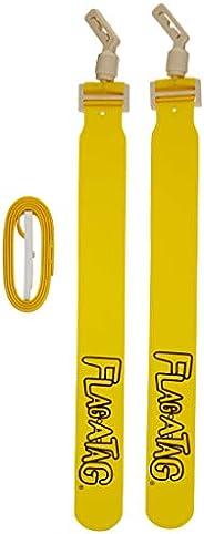 Flag-A-Tag Sonic Boom Flag Belts, 52-Inch, One Dozen