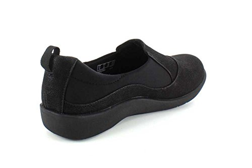 CLARKS Women's CloudSteppers Sillian Paz Slip-on Loafer Black discount under $60 sale clearance wV5fzqWL9