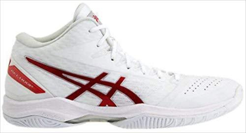 バスケットシューズ asics (アシックス) GELHOOP V11 WHITE/CLASSIC RED 1061A013 1905 バスケット B07S9Y6NS4 118.WHITE/CLASSIC-RED 23.0cm
