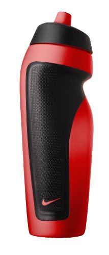 Nike Sport Water Bottle (Sport Red/Black, One Size)
