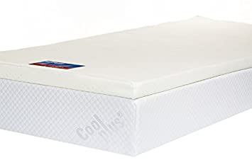 Memory Foam Mattress Topper With Cover 2 Inch Uk King Size