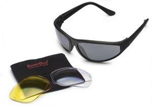 Guard-Dogs, Aggressive Eyewear Sidecars 2 Sunglasses 3 Lens Standard w/FogStopper