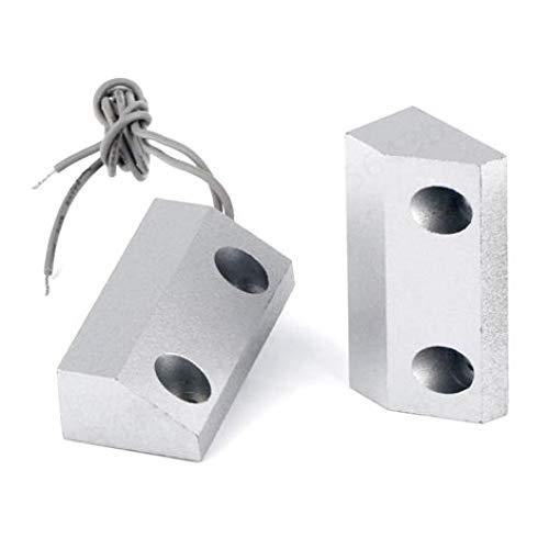 KOKO Zhu Interruptor-Tienda de Metal Persiana Enrollable Alarma de Contacto de Puerta Ca/ña magn/ética