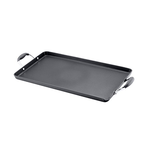 Hard Burners (Anolon Advanced Hard Anodized Nonstick 18-by-10-Inch Double Burner Griddle)