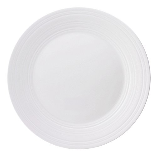 (Jasper Conran by Wedgwood White Bone China Dinner Plate Swirl 11