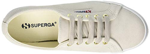 N20 sueu Donna white Superga Bianco Sneaker Cream 2730 6awFpqK7